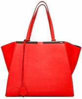 Fendi 'Poppy' 3Jours Leather Tote - Fendi