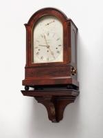 A fine mahogany London bracket clock by Brockbanks, circa 1830
