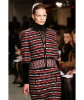 Oscar de la Renta Embellished Wool-Blend Jacket - Runway