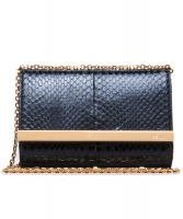 Fendi Mini Rush Python Evening Clutch