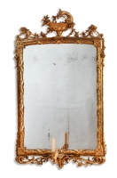 Dutch Louis Quinze Gueridon mirror