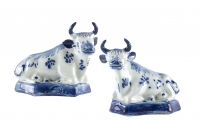 Delft Blue Cows