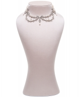 Siman Tu Five Strand Freshwater Pearl Necklace
