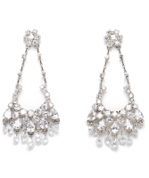 Siman Tu Chandelier Earrings - Siman Tu