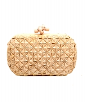 AW 2007 Bottega Veneta Runway Origami Knot Clutch - Limited Edition - Bottega Veneta