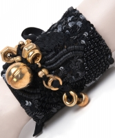 Dries van Noten Embroidered Cuff Bracelet - Dries van Noten