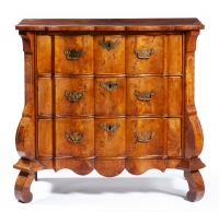 Dutch walnut commode