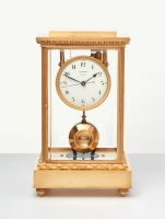 A French electrical (battery run) mantel clock by Bardon Clichy, circa 1925