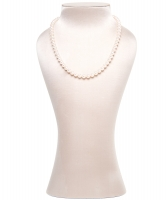 Mikimoto 16inch Akoya Cultured Pearl Strand Necklace – 18K White Gold Clasp