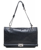 Dries Van Noten Black Leather Shoulder Bag - Dries van Noten