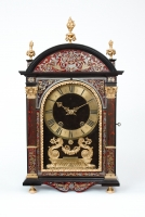 A French Louis XIV  boulle inlaid 'Religieuse' clock, Gabriel Duval Paris, cira 1690