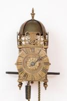A French miniature lantern timepiece, Ledoux A Paris, circa 1725