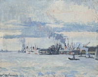 Harbour of Rotterdam - Willem Paerels