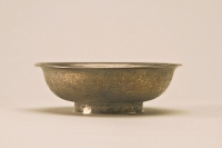 Small shallow bowl made of silver