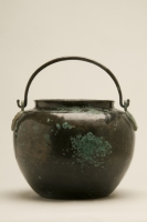 Bronze bucket-shaped Vessel