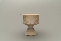 Very large stoneware lamp or censer