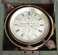 A British mahogany 2-day chronometer Dobbie McInnes Ltd, circa 1880