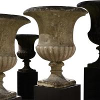 A Set of Four Campana Vases