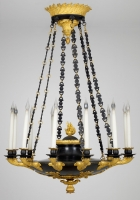 Disc Shaped Chandelier