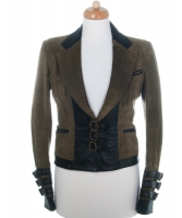 Christian Dior Suede Leather Blazer