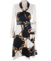 Louis Vuitton Scarf Print Flare Dress - Louis Vuitton