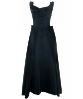 Vivienne Westwood Special Black Silk Gown Gold Label
