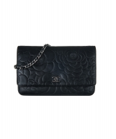 Chanel Camellia Wallet On Chain WOC Bag - Chanel