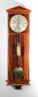 A good Austrian mahogany inlaid 'Dachluhr' regulator timepiece, circa 1840.