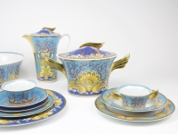 Versace, Porcelain dinnerware 'Les Trésors de la Mer', Rosenthal studio-linie, 1980 - Gianne Versace