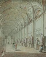 Volpato & Ducros: de 'Galleria delle Statue' in het Museo Pio-Clementino