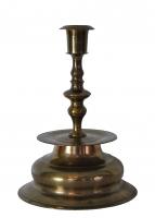 Brass Nurnberg candlestick, about 1600.