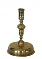 Spanish brass candlestick.
