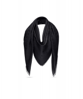 Louis Vuiton Black Monogram Shawl