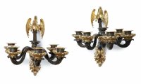 A Pair of Restauration Wall Sconces