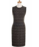 Alaïa Geometric Print Sleeveless Dress - Azzedine Alaïa
