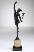 French Bronze Charles X Mercury after Giambologna