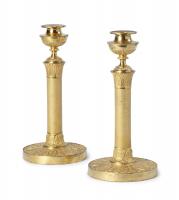 A Pair of Empire Candlesticks