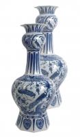 Blue Delft Knobbelvases