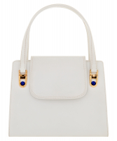 Vintage Gucci White Lapis Top Handle Bag - Gucci