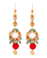 SS 2013 Dolce & Gabbana Sicilia Chandelier Earrings - Dolce & Gabbana