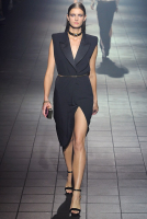 SS 2012 Lanvin Runway Black Silk Sleeveless Dress - Lanvin