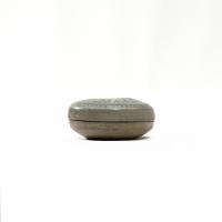 Korean stoneware cosmetic box and cover