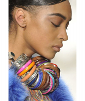 FW 2008 Dries Van Noten Runway Bangle Necklace - Dries van Noten