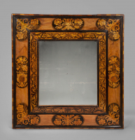 A William and Mary Marquetry Mirror