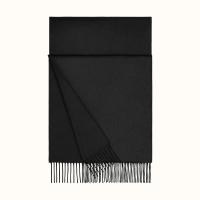 Hermès Black Cashmere Stole - Hermès