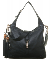 Gucci 'New Jackie' Black Leather Shoulder Bag - Gucci