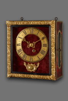 French Louis XIV Pendule Réligieuse