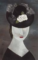 Dame met hoed - Tinus van Doorn