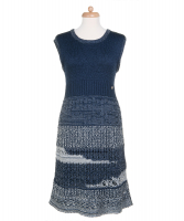 Chanel Sleeveless Knit Dress 12P - Chanel