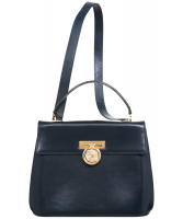 Vintage Celine Navy Blue 2Way Bag - Celine
